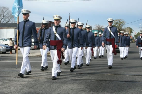 Rifle Legion Drill Team at The Citadel