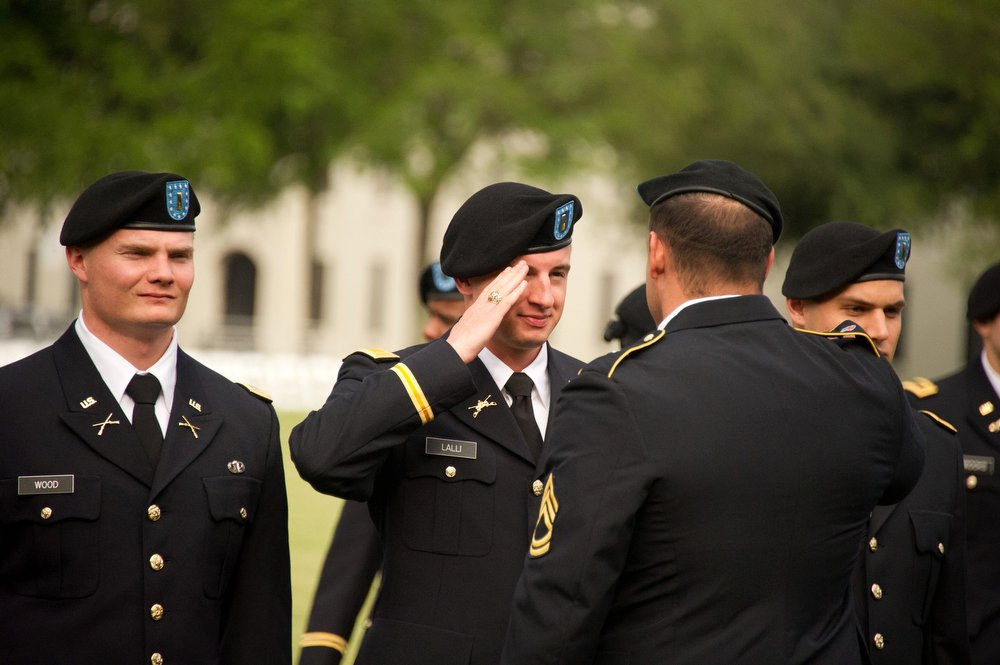 army rotc first salute