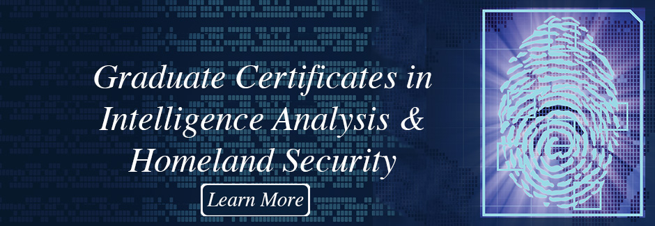 Graduate Certificate in Intelligence Analysis