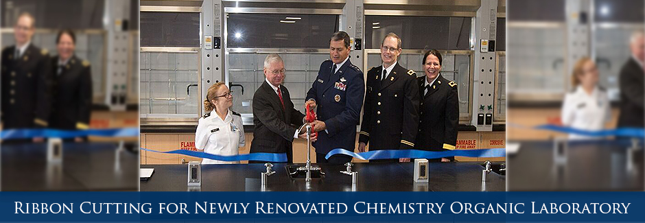 Ribbon Cutting for Newly Renovated Chemistry Organic Lab